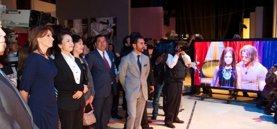 Primera Dama de China y Angélica Rivera en Televisa-novela William Levy